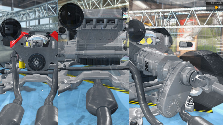 Detailed guide to diagnosing and repairing gearbox system problems in Car Mechanic Simulator 2015.