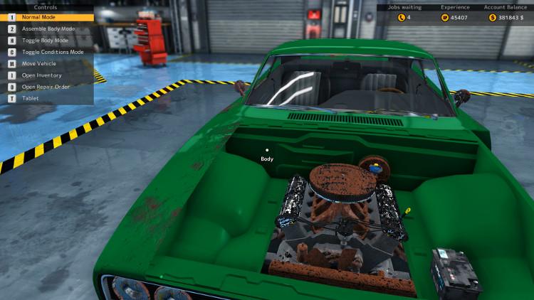 tempest magnum details complete rebuild car mechanic simulator